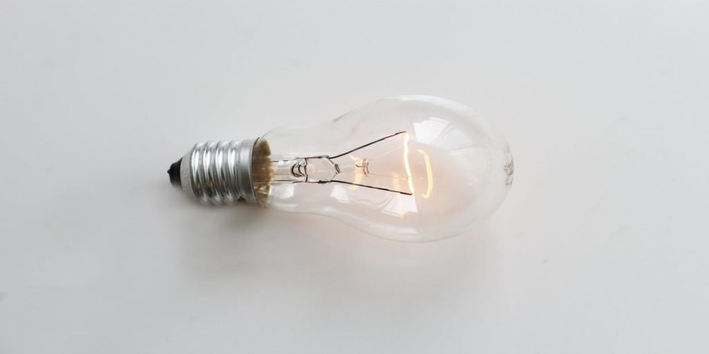 A light bulb and best candle ideas